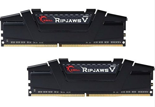 G.SKILL Ripjaws V Series 16GB (2 x 8GB) 288-Pin SDRAM DDR4 3000 (PC4 24000) Intel Z170 Memory Kit F4-3000C15D-16GVKB - Edge Ram Memory