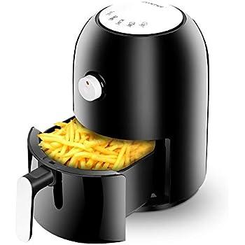 Amazon Com Zenchef 2 2qt Digital Air Fryer Oven W Led