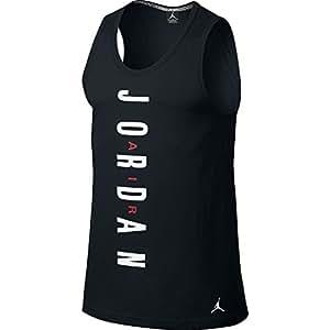 Nike Men's Jordan AJVI Tank Top Shirt XX-Large Black