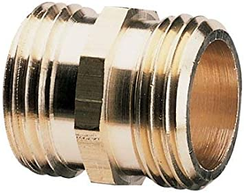 Double Male Nelson 855734-1001 Industrial Brass Pipe and Hose