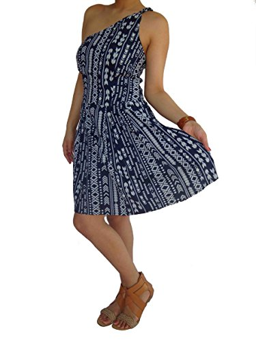 Four Movement Women's Blue Delight Tunic Dress Large XLarge Blue