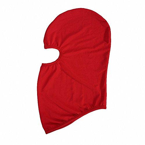 Maoko Kids Thin Hood Balaclava,Ski Face Mask Balaclava for Child (20 Colors) (Camo Hockey Mask)