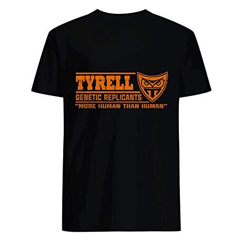 USA 80s TEE Tyrell Genetic Replicanrs More Human Than Human Shirt Black