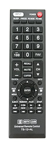 Vinabty NEW Replaced Remote fit for TOSHIBA CT-RC1US-16 CT-9