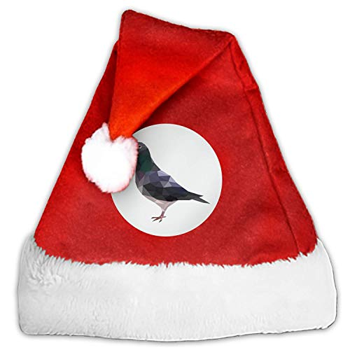 1pc Mini Pigeon Santa Hat Cup Bottles Cover Home Christmas Decor]()