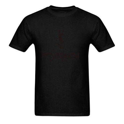 Jamefoxfit Yves Saint Laurent Poster Screw Neck T-shirt For Men XXXL - Saint Clothes Laurent Yves