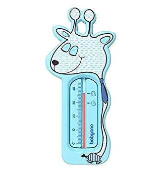 BabyOno Floating Bath Thermometer, Mint, Cute Giraffe