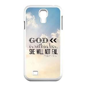 Bible Verse Unique Design Cover Case for SamSung Galaxy S4 I9500,custom case cover ygtg619582 hjbrhga1544