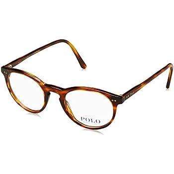 Polo Men\'s PH2083 Eyeglasses Havana Striped 46mm