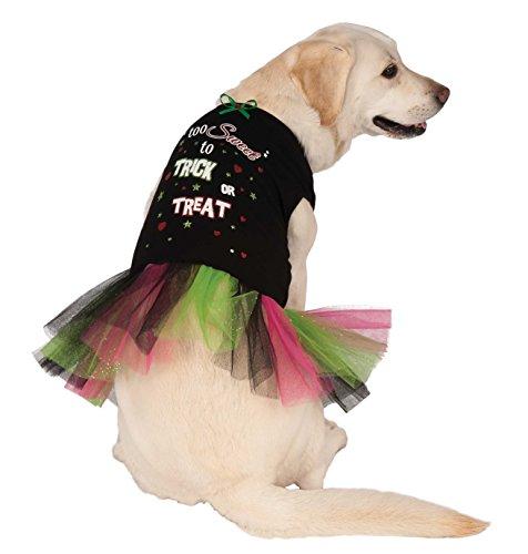 Rubie's Trick or Treat Tutu Dress Pet Costume, Medium ()