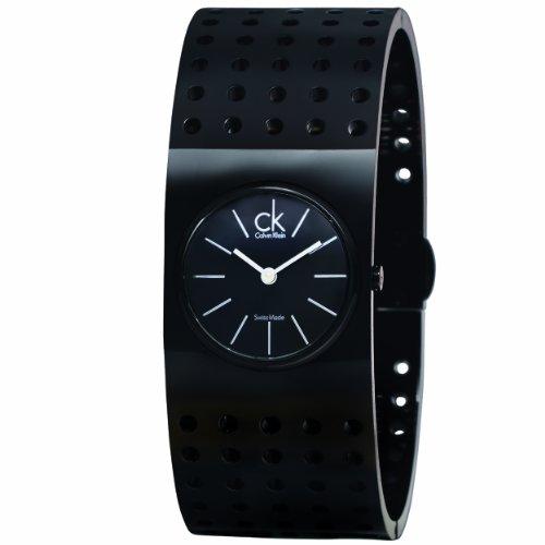 Calvin Klein Ck Grid - CK Calvin Klein Women's K8324302 Black Grid Watch
