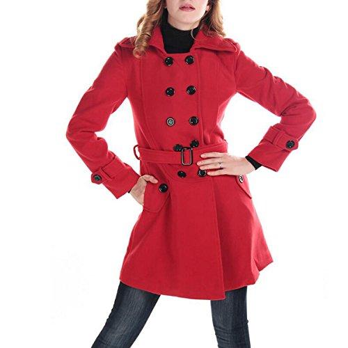 Wool Melton Toggle Coat - 9