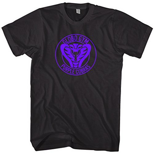Mixtbrand Men's Globo Gym Purple Cobras Average Joe's T-Shirt M Black]()