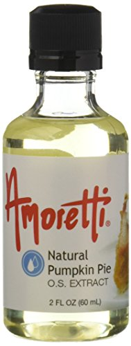 Amoretti Natural Pumpkin Pie Extract, 2 Fluid Ounce