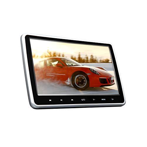 2019 New 10.1 Inch HD Digital Multimedia Monitor Super-Thin Car Headrest DVD Player,Eonon Headrest Monitors with HDMI Port and Remote Control USB and SD-L0299A