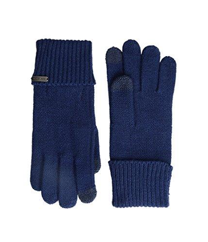 - Steve Madden Women's Solid Boyfriend Gloves Navy Gloves