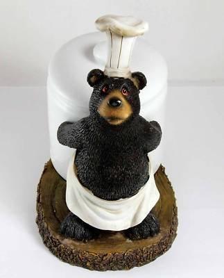 Black Bear Chef Coffee (Jar Kitchen Decor)