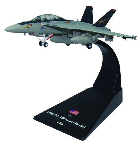F/A-18F Super Hornet diecast 1:100 model (Amercom (18f Super Hornet Model)
