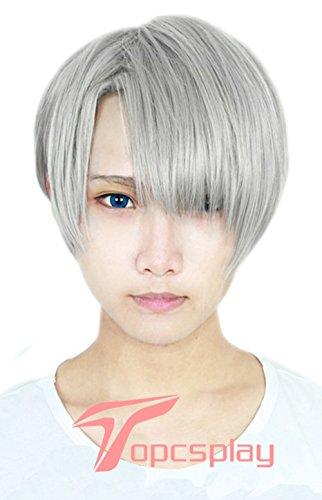 Topco (Short Grey Wig)