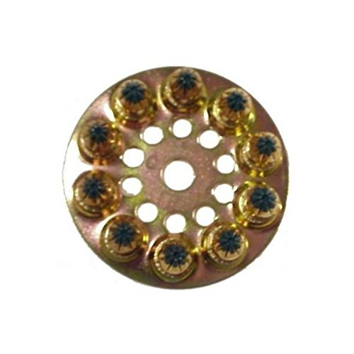 0.25 Caliber Disk Load Color: Green - Powder Load Discs