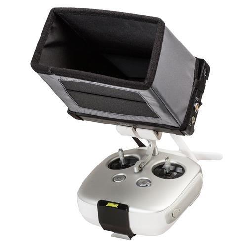 Hoodman HSGN Drone Aviator Hood for 7'' FPV Monitors