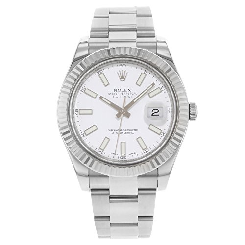 Rolex Datejust II Automatic-self-Wind Male Watch 116334 (Certified Pre-Owned)