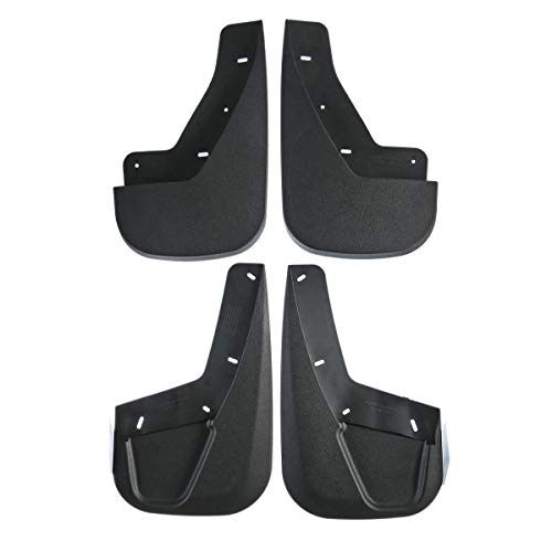 - Set of 4 Front and Rear Splash Guard Mud Flaps for Cadillac Escalade 2007-2014 Chevrolet Tahoe LTZ GMC Yukon