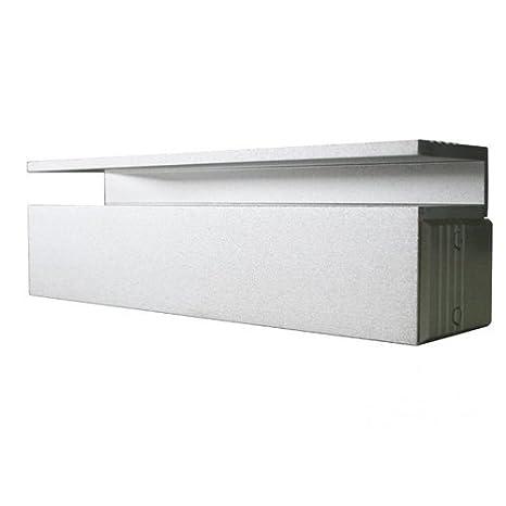 Axceze AL-100 1000kg Metálico cerradura electromagnética - Cerraduras electromagnéticas (1000 kg, 350