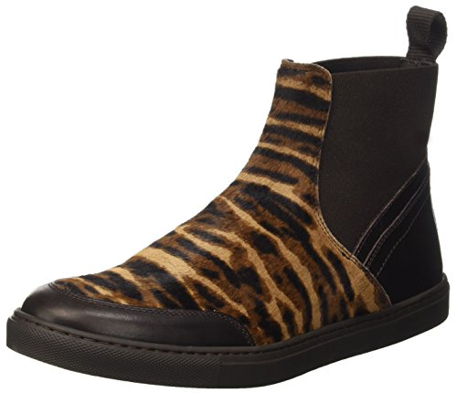 Pennyblack Damen Scuola High-top Multicolore (fantasia Marrone)