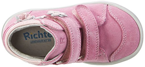 Richter Kinderschuhe Dandi S - Botas de senderismo Bebé-Niños Pink (candy/lipstick/silve)
