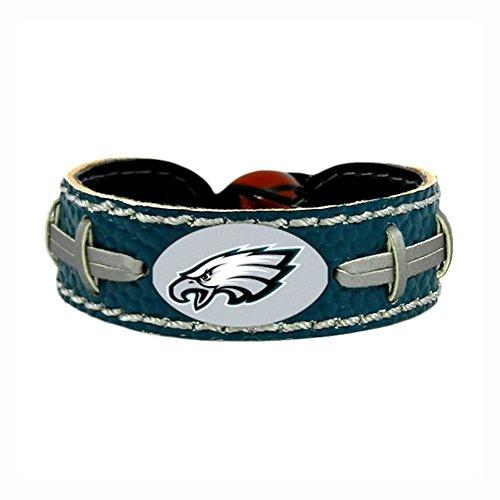 Leather Gamewear Nfl Football - Philadelphia Eagles Team Color NFL Football Bracelet