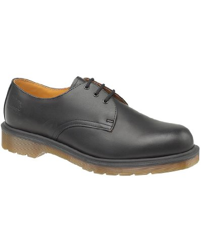 Dr. Martens Men's Airwair Industrial Non Safety Shoes (DM36A) negro - negro