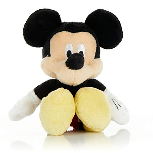 KIDS PREFERRED Disney Baby Mickey Mouse Stuffed Animal Plush Toy Mini Jingler, 6.5 inches from KIDS PREFERRED