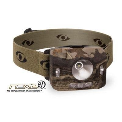 CYCLOPS CYC-RNG1XP-CMO 126-Lumen Ranger CREE(R) XPE Headlamp (Camo) (Led Mwave 3 Headlight)