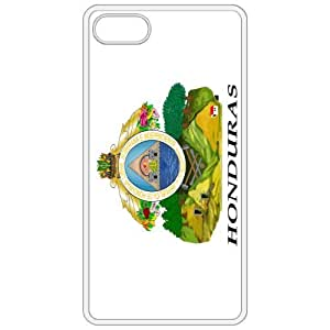 Honduras Coat Of Arms Flag Emblem White Apple Iphone 4 - Iphone 4s Cell Phone Case - Cover