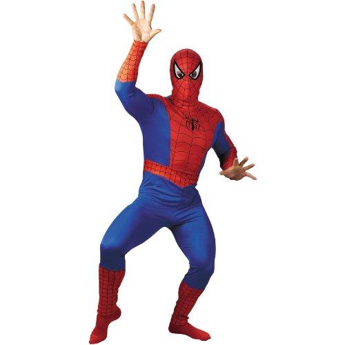 Spider-Man Adult Halloween Costume, XL (Spiderman Costume Teen)