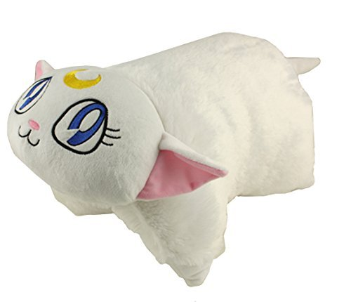 Happy Cuddle Cushion Toy Transforming Artemis Pillow From Sailor Moon Rare Collect