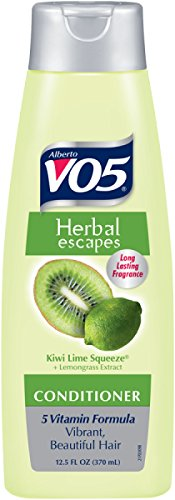 Alberto Vo5 Herbal Escapes Clarifying Conditioner Pump, Kiwi Lime Squeeze, 26.5 Ounce (Alberto Conditioner Vo5 Herbal)