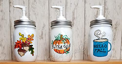 Fall Soap Dispensers