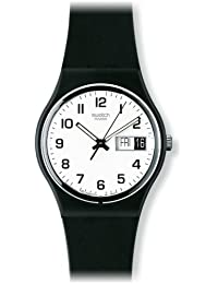 Women's GB743 Once Again Black Plastic Watch