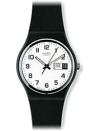 Swatch Men's Irony GB743 Black Rubber Swiss Quartz Watch