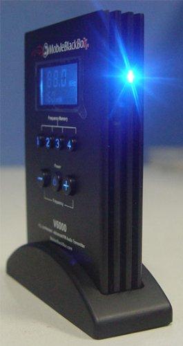 (Mobile Black Box V6000 Fm Audio Transmitter )