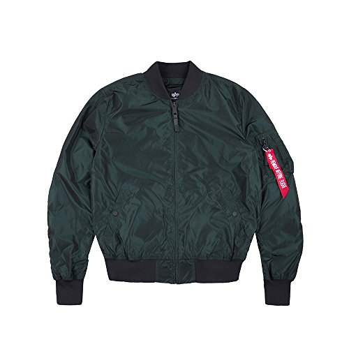 Petrol 1 Jacket Burgundy ALPHA TT Bomber INDUSTRIES MA Irridian Dark UxE6qzvw6