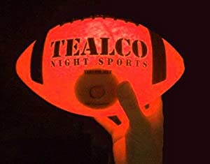 Premium Quality TealCo Light-Up Youth Football + Accessories (Glow in The Dark)