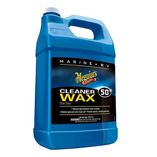 meguiars-m5001-marine-rv-one-step-cleaner-wax-1-gallon