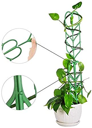 3 Sets MRGARDEN Mini Trellis Garden/ Trellis/ for/ Potted Climbing/ Plants Support 7 Inch Dia x 11 Inch Height