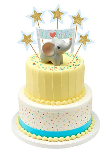 Surprising Elephant Baby Shower Baby Birthday Cake Cupcake Party Supplies Funny Birthday Cards Online Overcheapnameinfo
