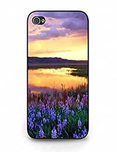 Personalized Tough Case With Romantic Sunset Scene for iPhone 5 5S