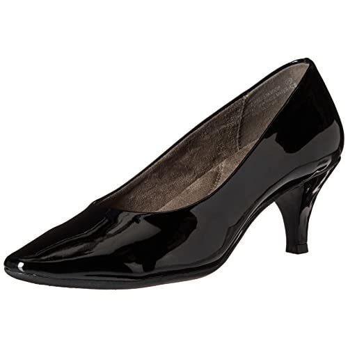 Aerosoles Women's Stardom Dress Pump, Black Patent, 8.5 M US