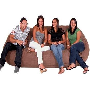 Amazon Com Cozy Sack 8 Feet Bean Bag Chair X Large